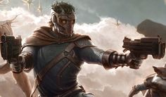 'Guardians of the Galaxy' Star Lord Concept