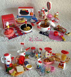 Re-ments Hello Kitty ♥ Perfeitos | Flickr - Photo Sharing!