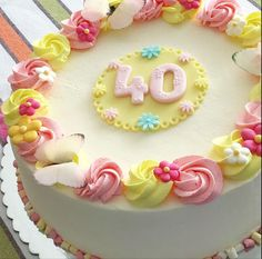 Tarta cumpleaños mujer