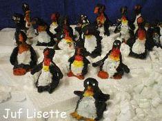 Mars van de pinguins (boetseren)