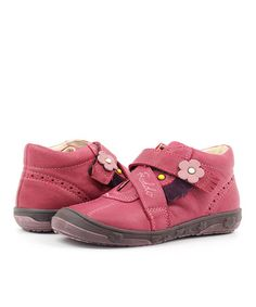 Take a look at this Fuchsia Flower Shoe by Froddo on #zulily today!
