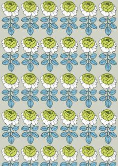 marimekko  Spring Fabrics  Maalaisruusu fabric