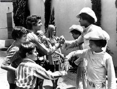 The Brady Bunch meet the Jackson Five,  I enjoyed both groups during my teens.