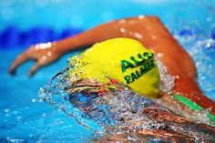 Kylie Palmer of Australia competes during the Swimming Women's 200m Freestyle Semifinal 1 on day eleven of the 15th FINA World Championships at Palau Sant Jordi on July 30, 2013 in Barcelona, Spain.