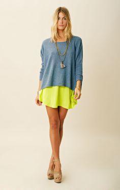 blu moon | loose & easy sweater