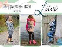 "E-Book Steppweste/Jacke ""Liivi"" Kids"