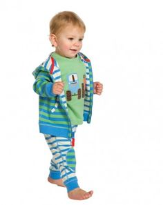 Frugi Reversible Kneepatch Crawlers - Le Loup