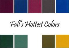 Trend Alert | The Fall Color Palette - Glamamom®