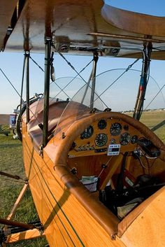 Looks like my Pietenpol! (Except nicer, & the round engine. I always loved this view