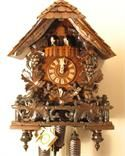 Romach und Haas Grape Leaves, Vines and Fence Cuckoo Clock with 8 Day Movement