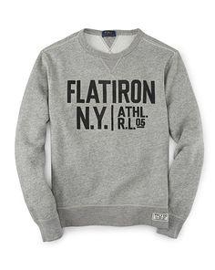 Fleece Graphic Sweatshirt - Polo Ralph Lauren Sweatshirts - RalphLauren.com