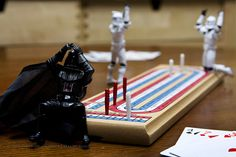 LOL!!!!! Force powers apparently are not advantageous in cribbage.