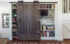 Mind-blowing kitchen pantry design --use cabinet design to style the door