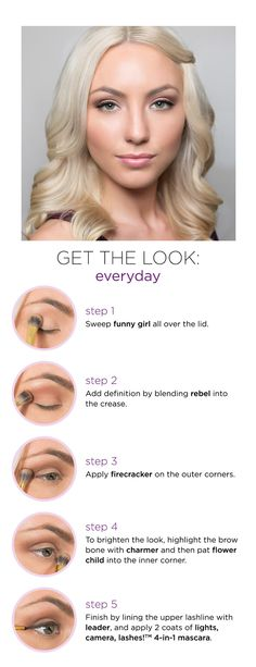 tartelette in bloom palette - tarte cosmetics How To.. PLUS, her hair, I want it shade and all.