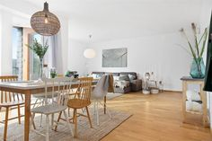 HA6 Living Room, Furniture, Interior, Deco, Dining Table, Home Decor, Vintage Chairs, Interior Design, Natural Rug