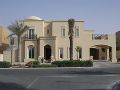 Emirati/ Dibai Villa/ Modern Contemporary Arabic Architecture (but I hate domes)