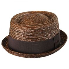 Kangol Wheat Straw Braid Pork Pie Hat Pork Pie Hats 106aa7a7640