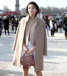 Zhang Yuqi Chloe Marcie Paris Fashion Week picture
