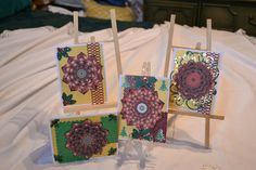 Christmas Cards in a 3D Kaleidoscope by pdqt12 on Etsy, $10.00
