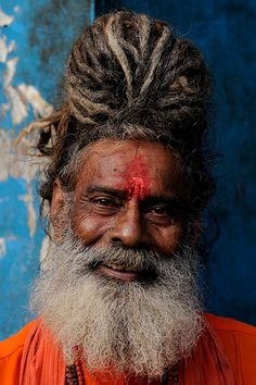 "Varanasi, ""Portrait of a Sadhu"""