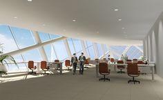 10 Stylish Modern Office Interior Design Ideas