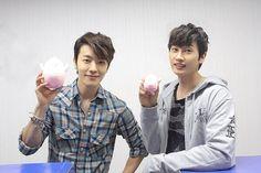 Eunhyuk and Donghae