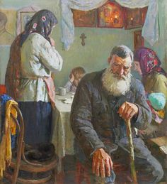 In the War Years: The Notification of a Soldier's Death Mikhail Shorokhov 1986 One woman's understanding of the linkage between culture and belief Communism, Socialism, Socialist Realism, Handmade Notebook, Realism Art, Impressionism, Art History, The Past, Culture