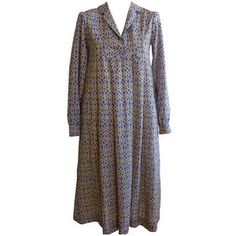 Preowned 1970s Liberty Of London Boho Wool Dress