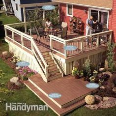 Give that old deck a new lease on life! Expert deck-builders show you how to make your old dilapidated deck look brand new with low-maintenance decking and railing materials.