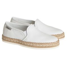 Hogan Rebel Sneakers (200 CAD) ❤ liked on Polyvore featuring shoes, sneakers, white, pull on shoes, hogan rebel, hogan rebel shoes, white slip on shoes and white sneakers