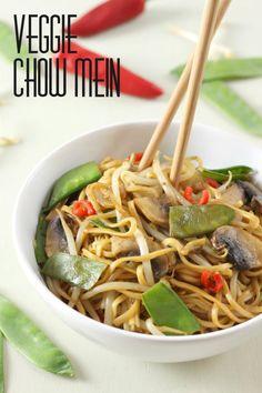 Veggie chow mein