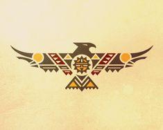 Native American Tattoos, Native Tattoos, Native American Symbols, Native American Design, Tribal Tattoos, Tattoos Skull, Body Art Tattoos, Wing Tattoos, Celtic Tattoos