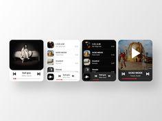 Responsive Web Design, Ui Ux Design, Apple Watch Music, Mobile Ui Design, Ui Kit, Web Design Inspiration, Motion Design, User Interface, Gd