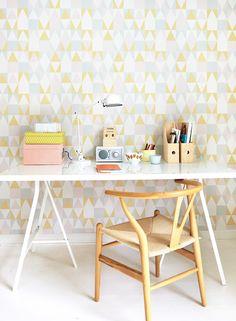 Majvillan, Tapetti, Alice, vaaleanpunainen/keltainen/harmaa - Lelut - CDON.COM
