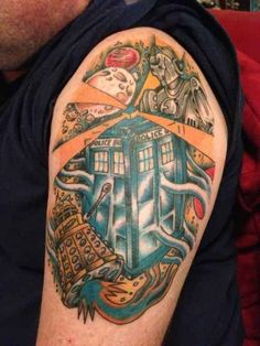 Wibbly Wobbly Doctor Who Tattoos Dr Who Tattoo, Doctor Who Tattoos, I Tattoo, Lace Tattoo, Owl Tattoo Design, Tattoo Designs, Tattoo Ideas, Tardis Tattoo, Tardis Art