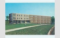 Unused Pre-1980 HALL AT FERRIS INSTITUTE Big Rapids Michigan MI L8838