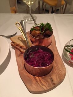 Pot of Scouse from Marco Pierre White's restaurant in Liverpool