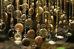 I have a bit of an obsession with old pocket watches and other timepieces...