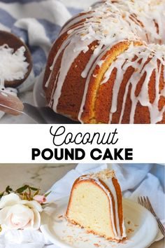 *NEW* There's only one word you need to describe my coconut pound cake recipe: luscious! I have to tell you, a good pound cake is my weakness. Who can resist the buttery, velvety, cakey-thick, deliciousness that is a slice of pound cake? #coconutcake #coconutpoundcake #poundcake #bundtcake #cakes #summercakes #desserts #coconuts Coconut Pound Cakes, Pound Cake Recipes, Frosting Recipes, Best Easy Dessert Recipes, Summer Recipes, Easy Desserts, Ultimate Coconut Cake Recipe, Delicious Deserts, Summer Cakes