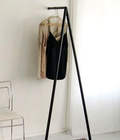 wall racks for clothes