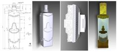 Non-functional Vodka bottle prototype. Difficulty: deliver a the product with a close transparency aspect at a competitive price. Shapelize 3D modeled the product from the client's sketches, 3D printed in resin + transparent resin, finished, polished, did the gilding and assembled