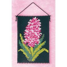 Hyacinth Beaded Banner