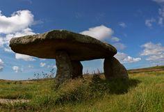 lanyon Quoit Bodmin Cornwall, The Giants Table.