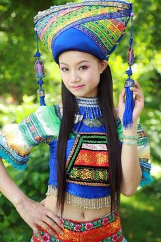 Zhuang tribe, China
