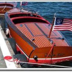 Vintage Chris Craft boat