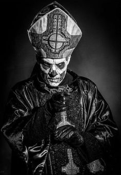 - Almost a portrait! Band Ghost, Ghost Bc, Heavy Metal Art, Black Metal, Ghost Banda, Ghost Papa Emeritus, Hard Rock, Ghost And Ghouls, Ghost Photos