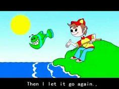 Nursery Rhyme 12345 Once I Caught A Fish Alive with lyrics