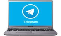 telegram-na-notebook