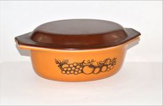 Old Orchard Pyrex by GenerationUpcycle on Etsy