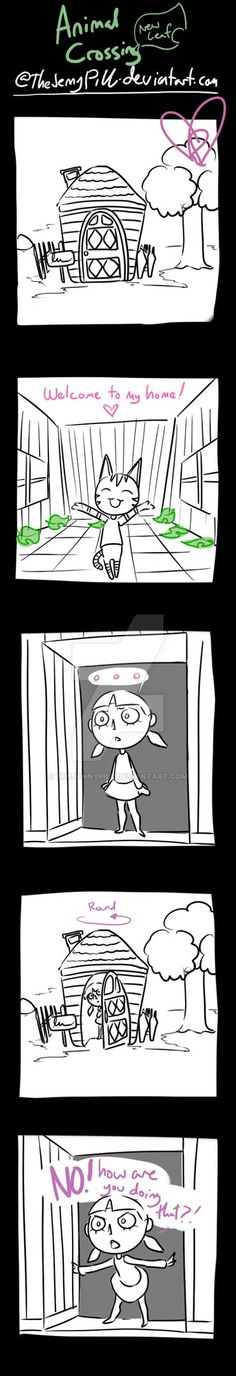 Animal Crossing New Leaf - comic 32 by TheJennyPill